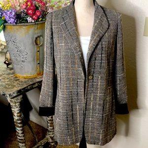 Simon Chang neutral tweed, loose fit jacket